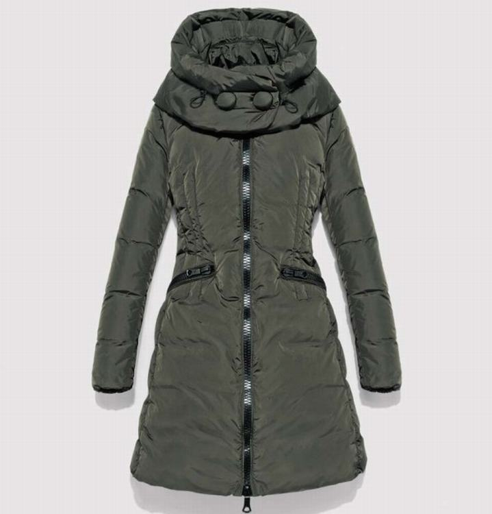 Moncler Cyroselle Women Jacket Light Army Green