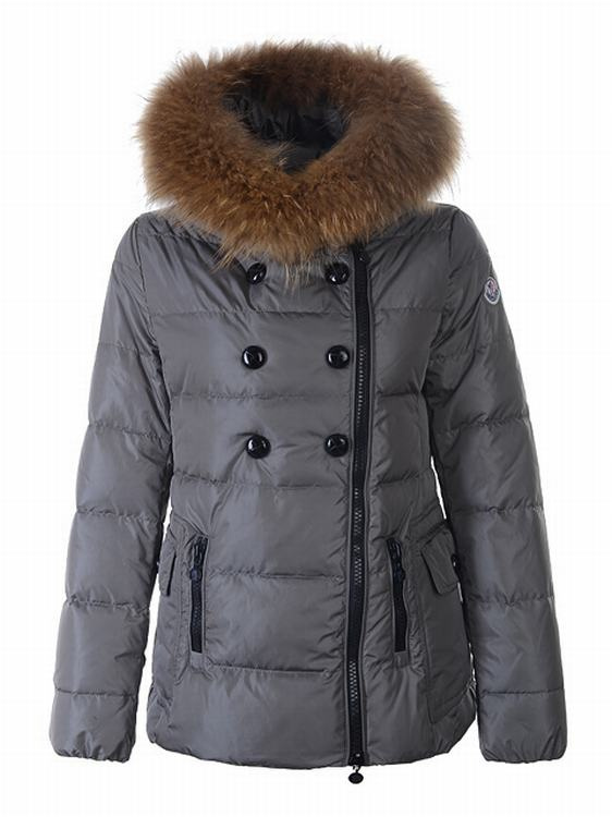 Moncler Elan Women Jacket Grey
