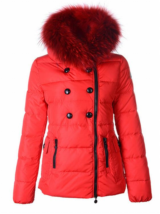 Moncler Elan Women Jacket Red