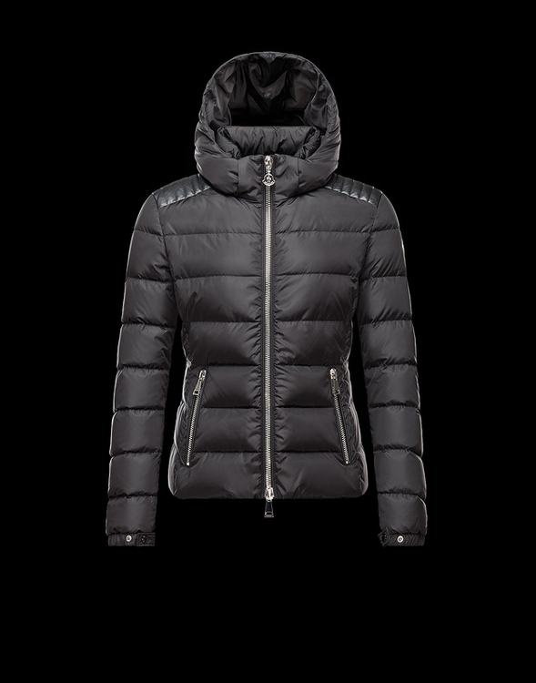 Moncler Fletan Women Jacket Dark Blue