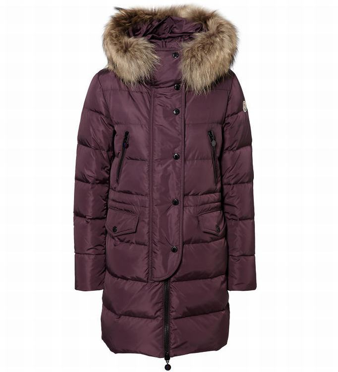 Moncler Fragon Women Jacket Dark Red