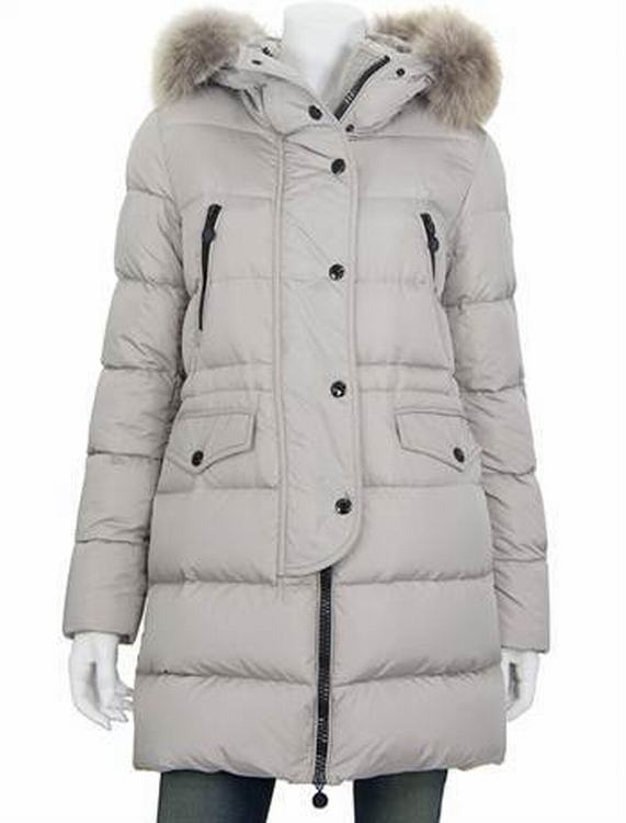 Moncler Fragon Women Jacket Grey