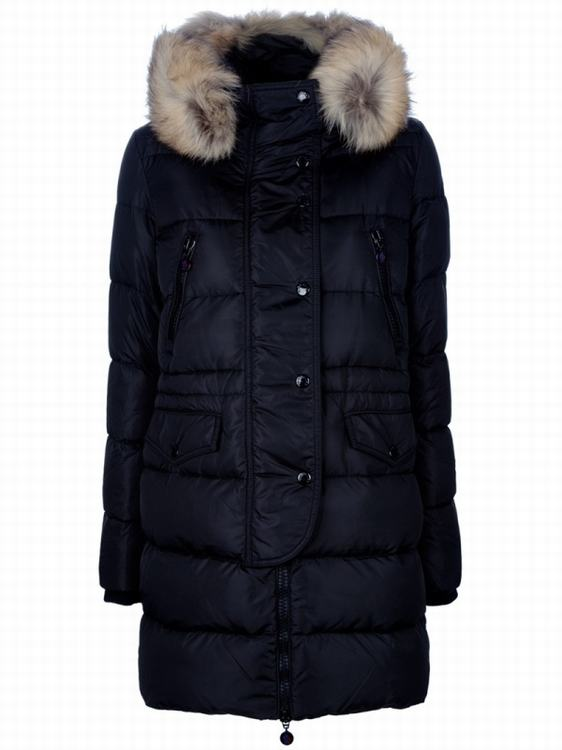 Moncler Fragon Women Jacket Navy Blue
