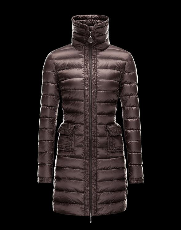 Moncler Gouet Women Jacket Gold Red