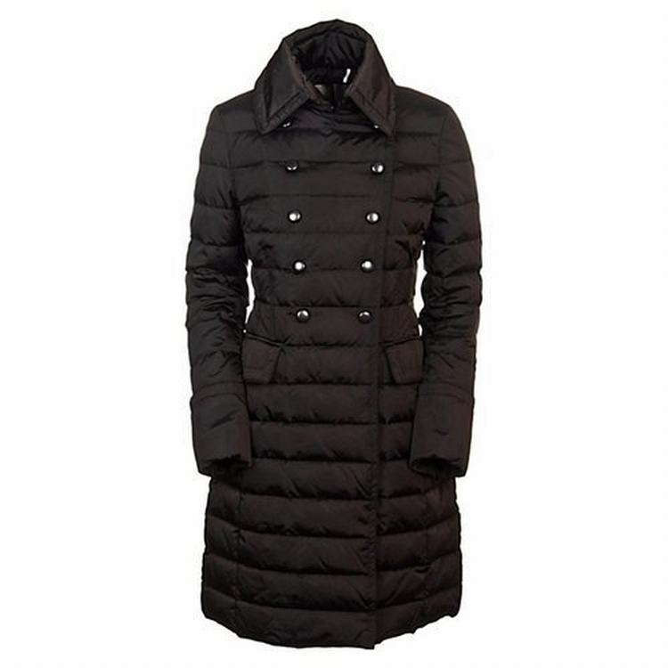 Moncler Hissope Women Jacket Wine Red