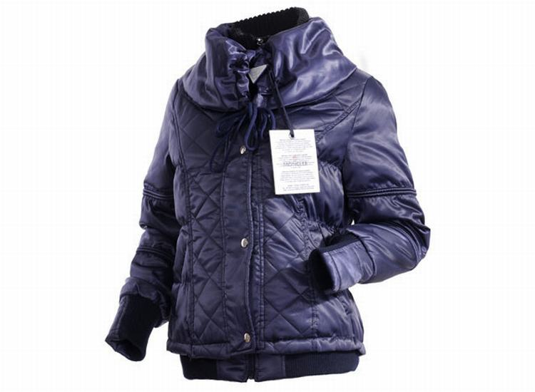 Moncler Jacket W-01 Women Jacket Purple Blue