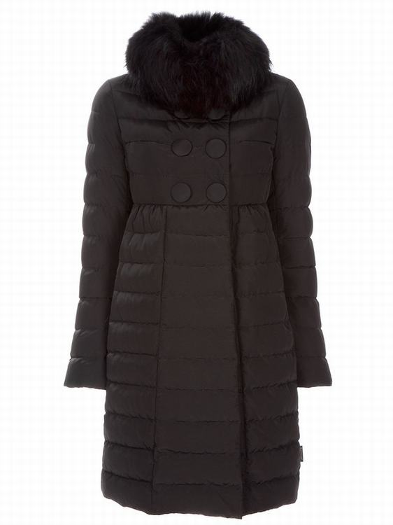 Moncler Johafur Women Jacket Dark Brown