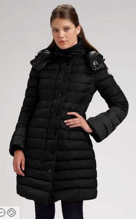 Moncler Jura Women Jacket Black