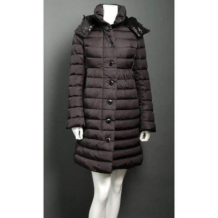 Moncler Jura Women Jacket Dark Brown