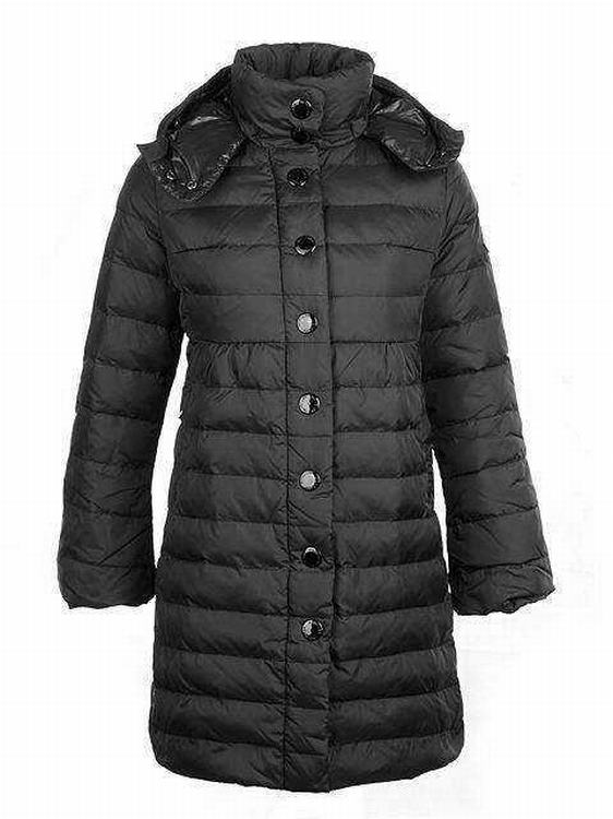 Moncler Jura Women Jacket Dark Grey
