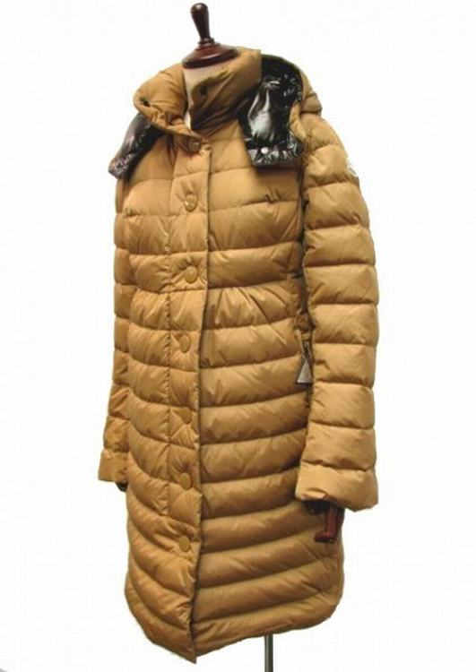 Moncler Jura Women Jacket Yellow