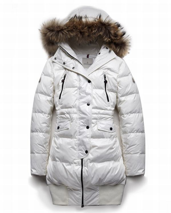 Moncler Loire Women Jacket White