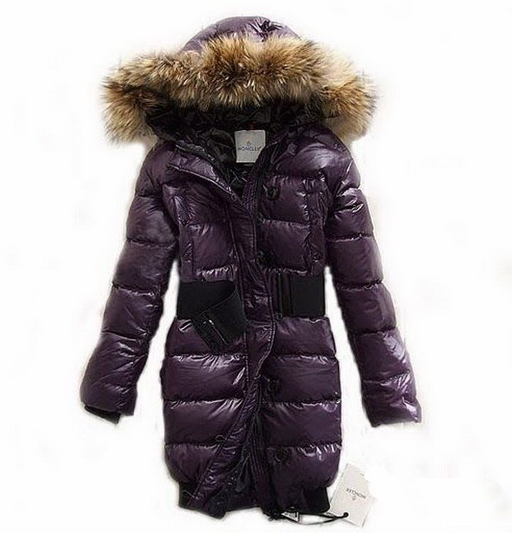 Moncler Lucie Women Jacket Dark Pink