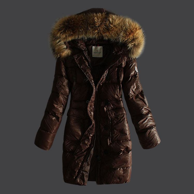 Moncler Melina Women Jacket Dark Brown