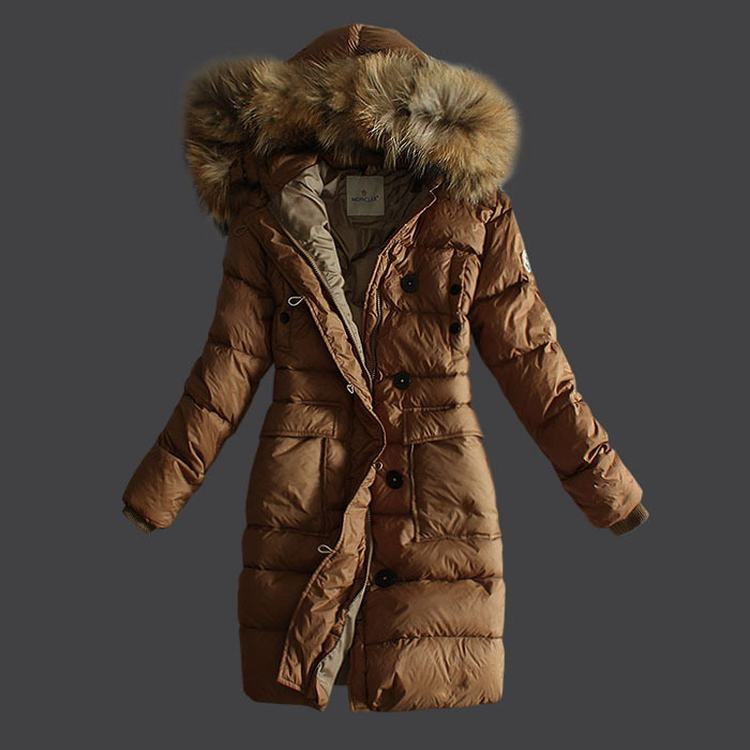 Moncler Melina Women Jacket Light Brown