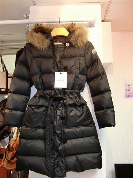 Moncler Messina Women Jacket Black