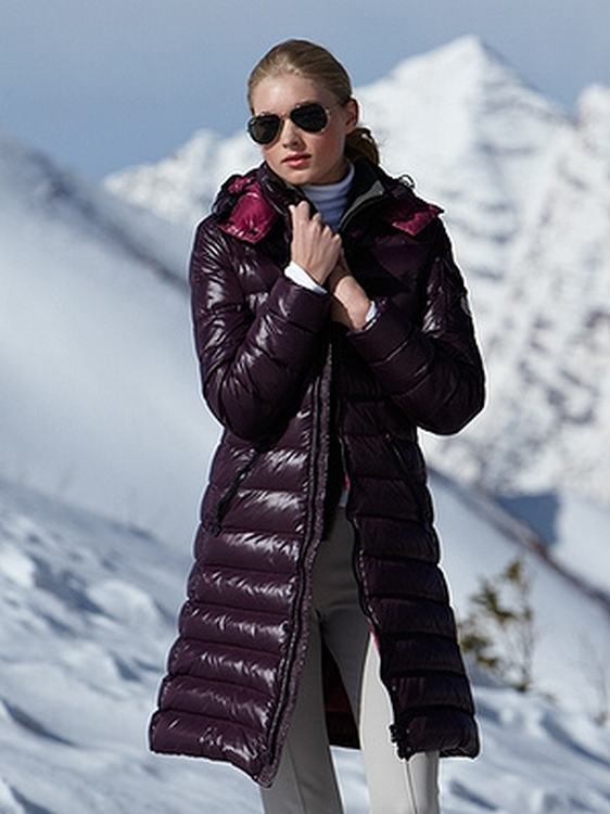 Moncler Moka Women Jacket Purple