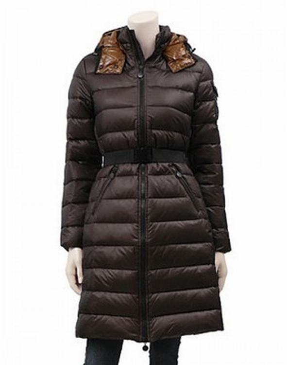 Moncler Mokacine 01 Women Jacket Dark Brown