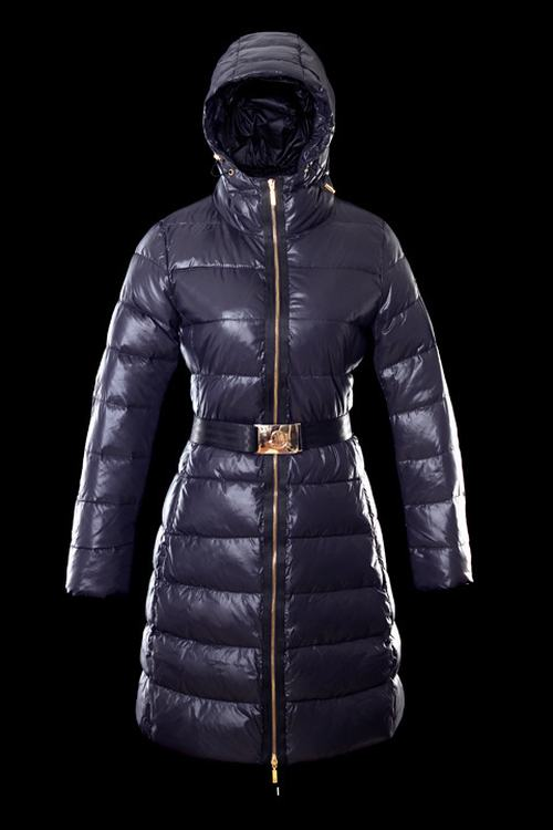 Moncler Nantes 01 Women Jacket Dark Blue