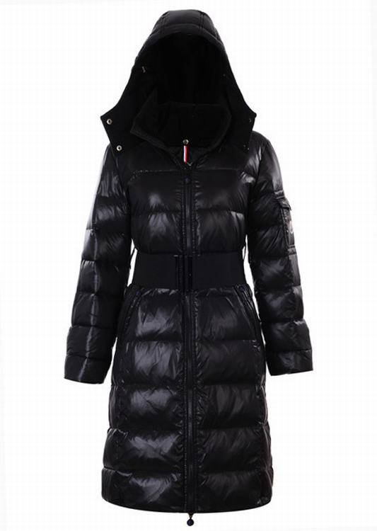 Moncler Nantes 02 Women Jacket Black