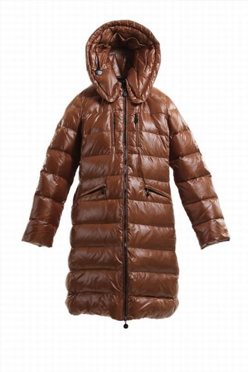 Moncler Passy Women Jacket Brown