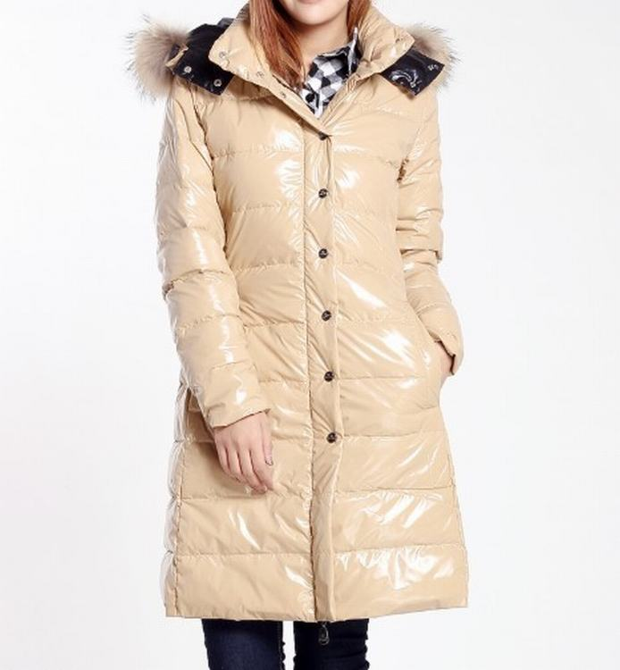 Moncler Petasite Women Jacket Cream White