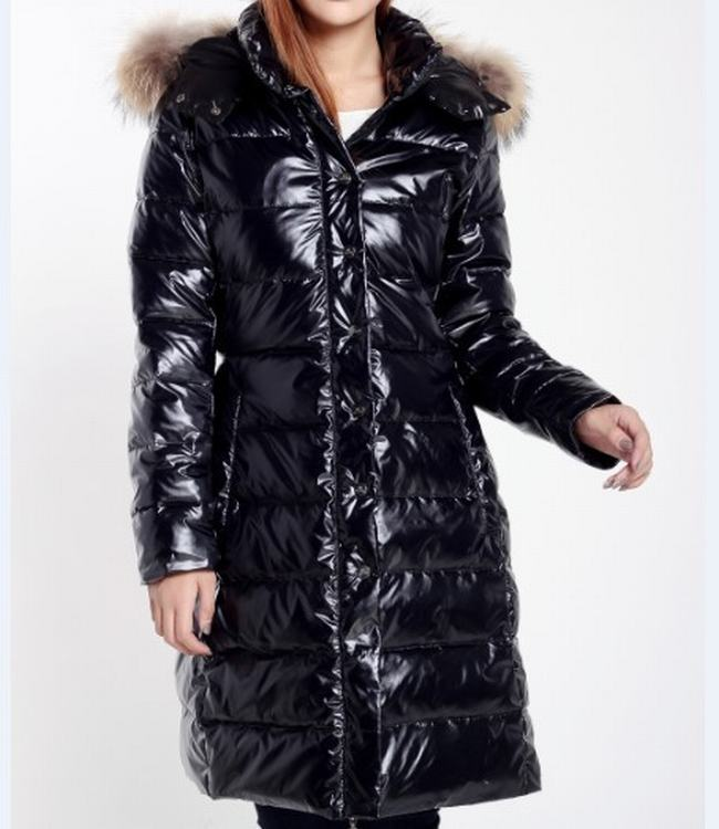 Moncler Petasite Women Jacket Dark Blue