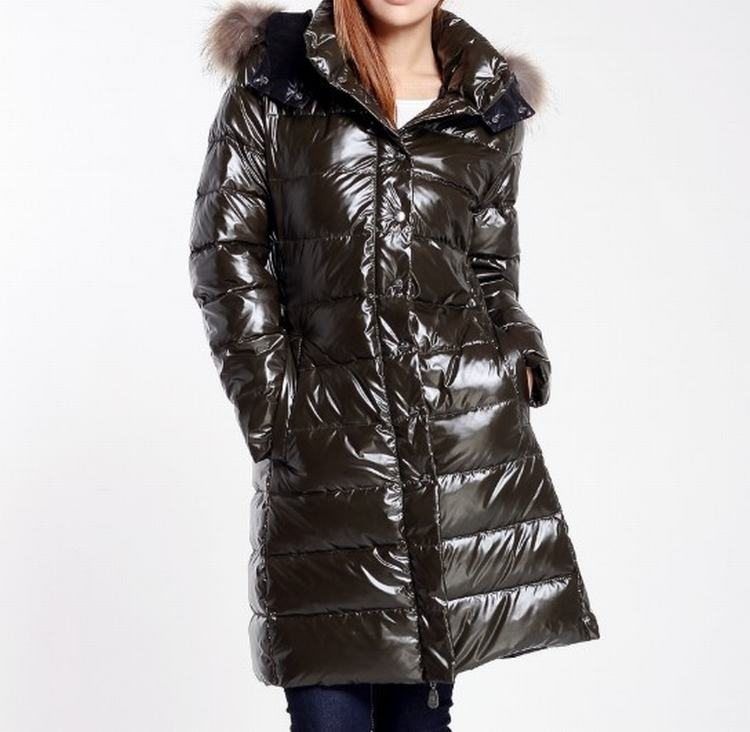Moncler Petasite Women Jacket Green