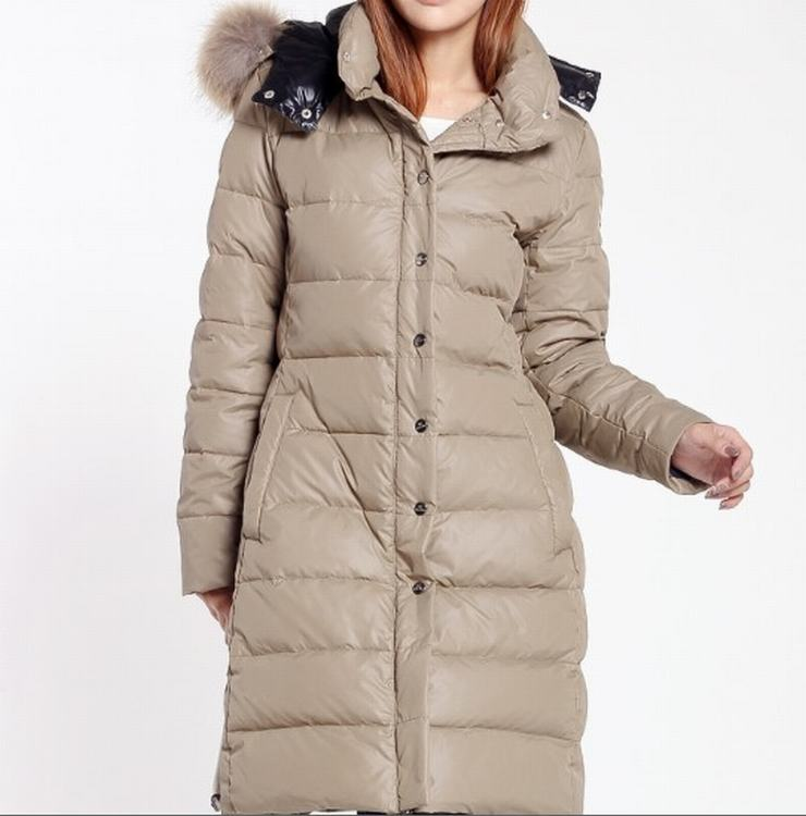 Moncler Petasite Women Jacket Grey