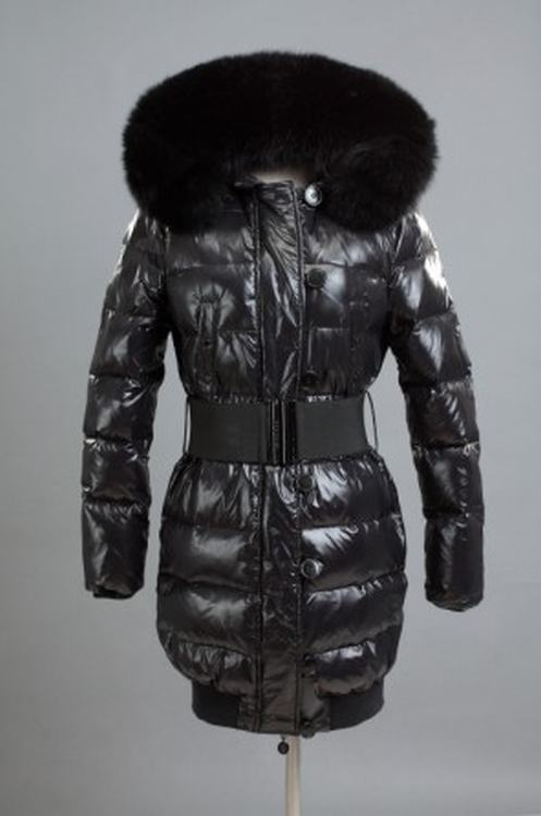 Moncler Pop Star Women Jacket Black Black