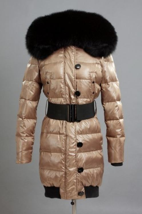 Moncler Pop Star Women Jacket Brown Black