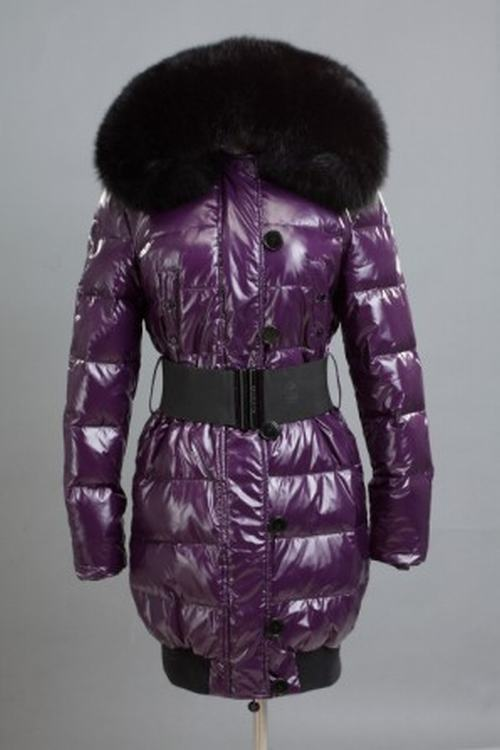 Moncler Pop Star Women Jacket Purple Black