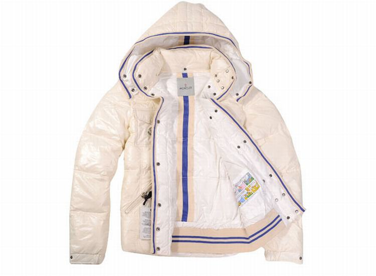 Moncler Quancy Women Jacket Cream White