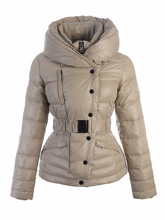 Moncler Rosean Women Jacket Light Brown