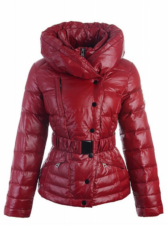 Moncler Rosean Women Jacket Red