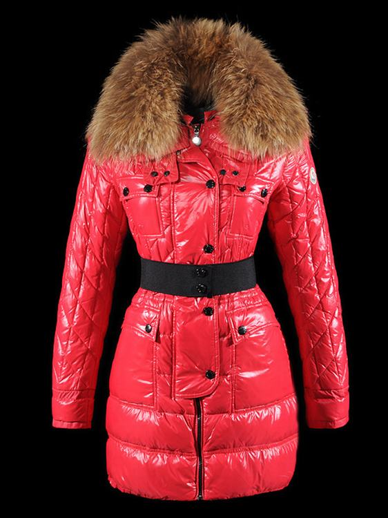 Moncler Safran Women Jacket Red