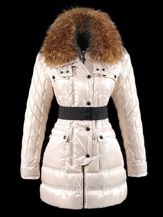 Moncler Safran Women Jacket White