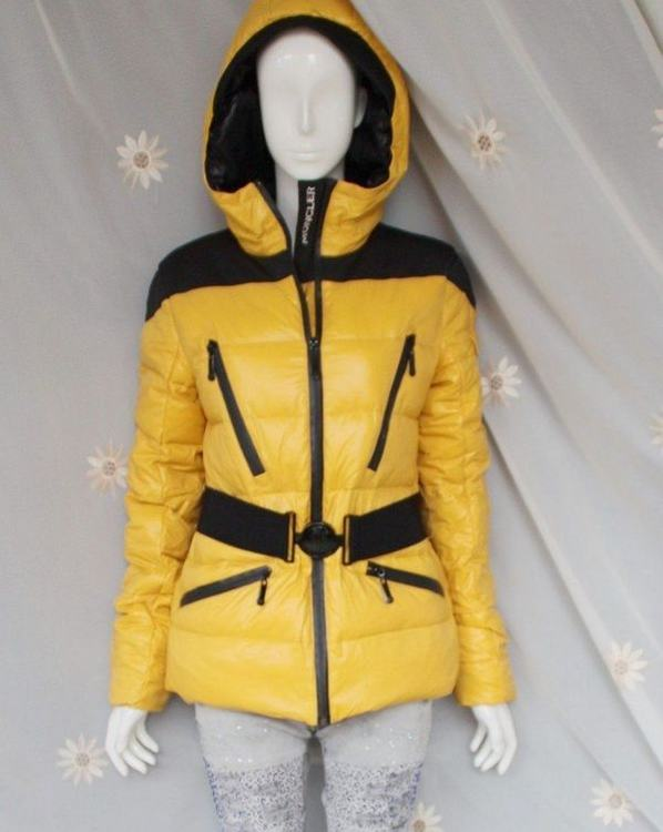 Moncler Ski-Jacket Women Yellow