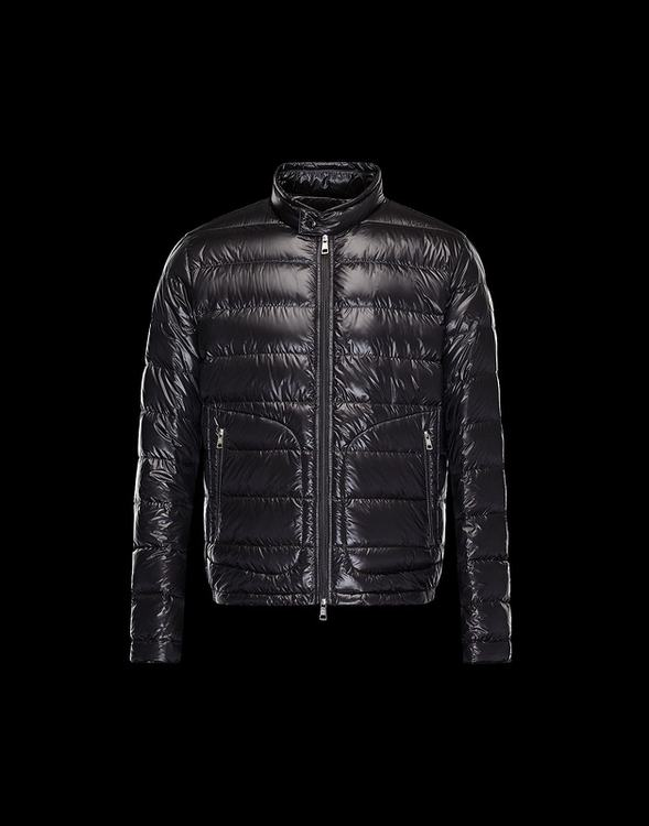 Moncler Acorus Men Jacket Dark Brown