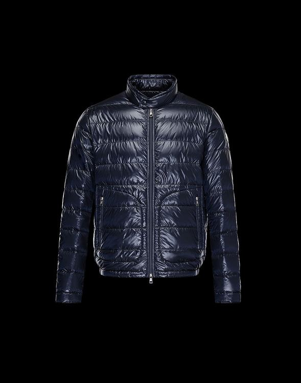 Moncler Acorus Men Jacket Navy Blue