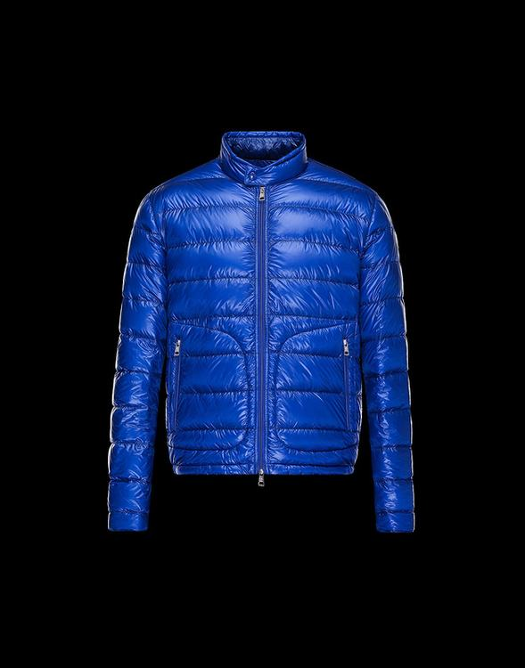Moncler Acorus Men Jacket Royal Blue