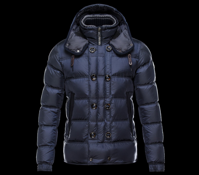 Moncler Alfred Men Jacket Blue