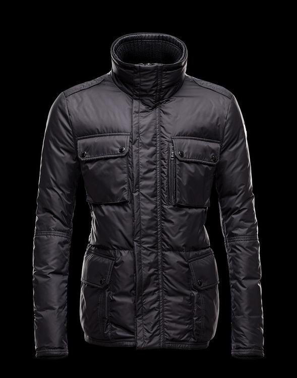 Moncler Amazzone Men Jacket Black