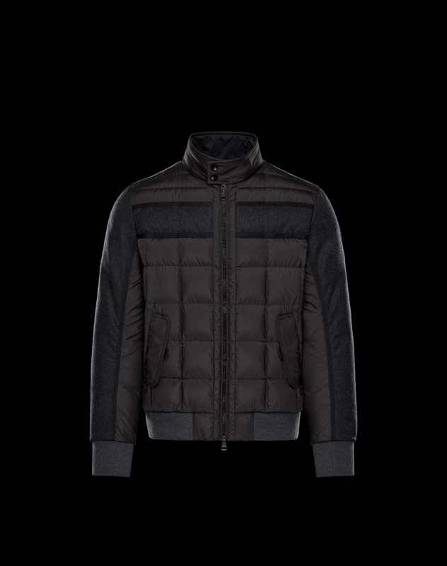 Moncler Aramis Men Jacket Brown Grey
