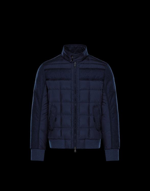 Moncler Aramis Men Jacket Navy Blue