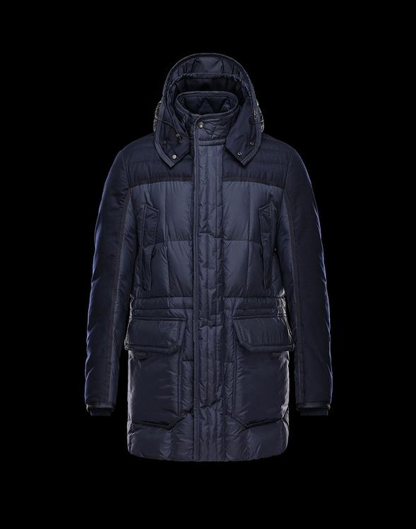 Moncler Arvier Men Jacket Blue
