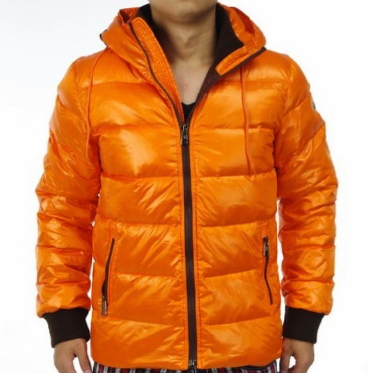 Moncler Aubert Men Jacket Orange