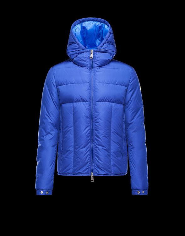 Moncler Barthet Men Jacket Blue