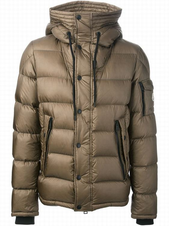 Moncler Basile Men Jacket Khaki