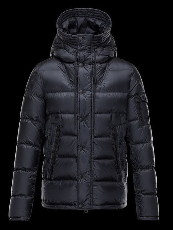Moncler Basile Men Jacket Navy Blue